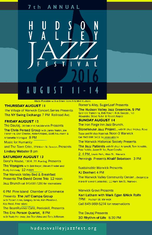 Jazz Fest poster 7.16.16